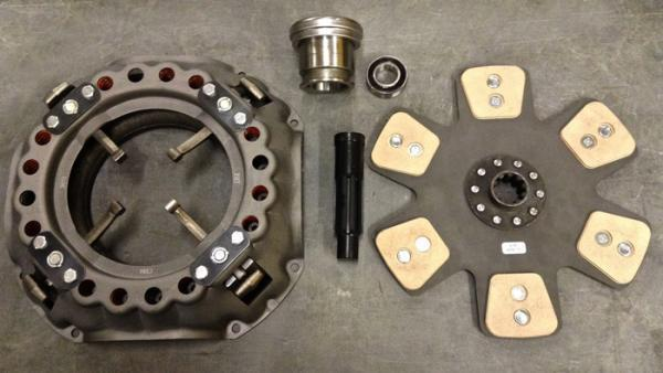 13 inch Clutch Assembly 1-3/8 inch or 1-1/2 inch shaft size, In Stock.
