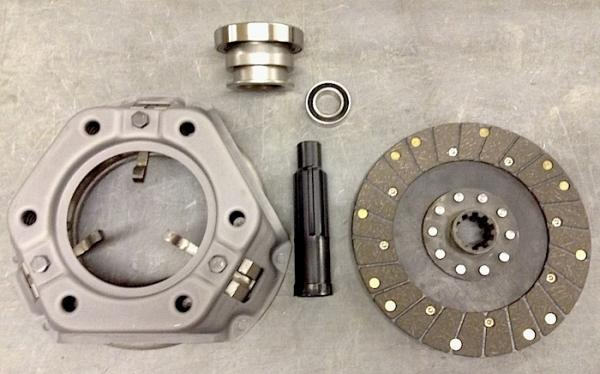 11 and 12 inch Clutch Assembly 1-3/ inch shaft size, In stock