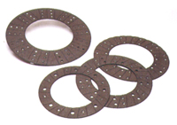 These brake pads are made by Frenosa and are molded semi-metallic material.
