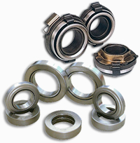Bearings Clutch release bearings and pilot bearings are in stock and can be sold separately or as part of a clutch kit.